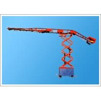 mobile telescopic warehouses loaded machine