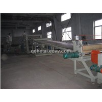 pp sheet plastic machine