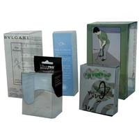 printed clear pvc boxes