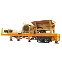 providing the mobile jaw crusher
