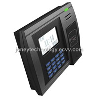 proximity fingerprint and rfid time and attendance terminal