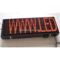 Red High Brightness Outdoor Waterproof LED Signs