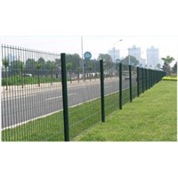 roadside fence