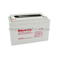 sealed rechargeable lead aicd battery6GFM100)