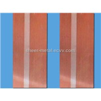 silver copper bi metal strip