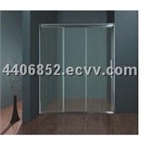 three doors shower door