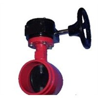 valve,butterfly valve,groove ends, MSS SP-67,NBR/EPDM/CSM/FPM Coating Disc