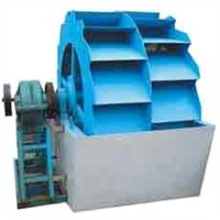 wheeled sand washing machine