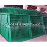 wire mesh fence (manufacture)