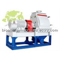 wood hammer mill crushing machine
