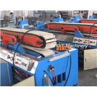 wood plastic door board making machine