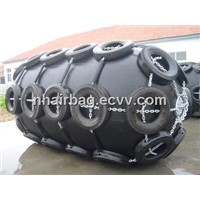 inflatable rubber fender for ship use