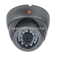 "1/3"" Color CCD 24 pieces IR LED 20m 420TVL Infrared dome camera"