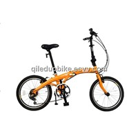 20inch SHIMANO 6speeds aluminum alloy folding bicycle(Model:A2006AW)