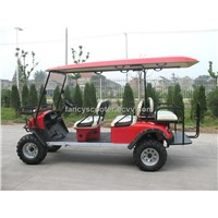 Electric hunting golf buggy with 6 seats CE approved EG2040ASZ