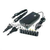 Excellent quality 90W 3in1 universal laptop adapters with LCD show and 8 output pins