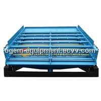 High speed vibrating screen