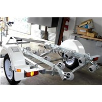 Hot dipped galvanzied steel single jetski trailers / PWC trailers / boat trailers