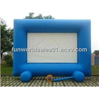 Inflatable movie screen billboard products