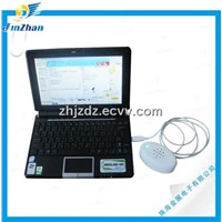 Laptop security alarm & charging display