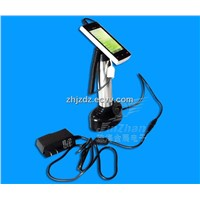 Mobile phone security alarm & charging display stand