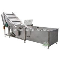Water-Bath Bubble Cleaning Machine (SXJ)for fruit and vegetable