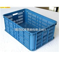 100% virgin HDPE transportation plastic crate(stackable series)