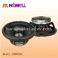 10 Inch 200W,6 Ohm Professional Stage Audio Speakers