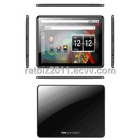 10 inch capacitive touch screen tablet pc with dual camera ,GPS ,android 2.3