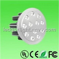 12W LED downlight (12X1W led ceiling light)