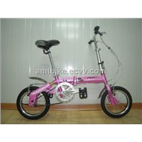 14 inch full suspension folding bicycle foldable bikes