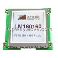 160X160 Graphic LCD Display Cog Type LCD Module (LM160160A)