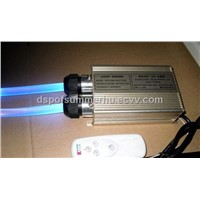16W fiber optic LED light engine with double head