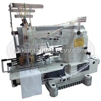 16 Needle Smocking Machine