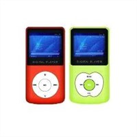 1.4inch LCM display USB Memory Card Reader Mp3 Player with Built - in Loudspeaker BT-P176
