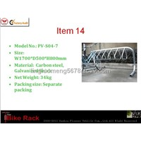 2012 good-quality outdoor coathanger bike rack factory (ISO approved)
