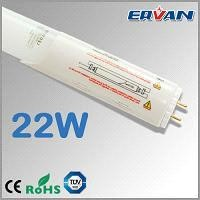 22W 4ft LED tube with removeable power supply