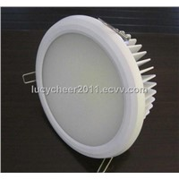 "25W COB LED downlight, 8"" size"