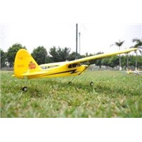 2.4Ghz 4ch Mini Piper J3 Cub Radio Controlled Airplane EPO brushless Ready to Fly with 2.4Ghz 4 chan