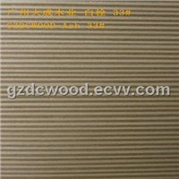 2'x8' big size engineered ash veneer, for inner decoration & furniture