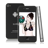 3.5 Inch Capacitive Multi-Touch  Google Android 2.3 Mobile Phone Hero H4