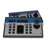 3 Axis CCTV Surveillance ptz keyboard controller with blue LCD Display