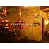400 L brewery equipment for pub, resturant and hotel