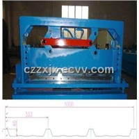40-333-1000color steel tile roll forming machine