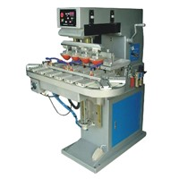 4-color Pad Printer With Conveyer