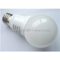 5W LED bulb with cool touch body