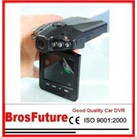 6 LED Car IR Light Night Vision Camcorder with Wide Angle and OV7725 Sensor B402E