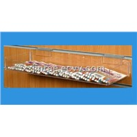 Acrylic Slat Wall Display Tray