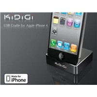 Apple iPhone 4 USB Cradle (Black)