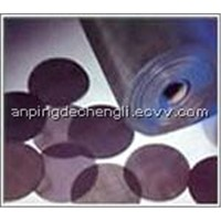 Black Wire Mesh Cloth